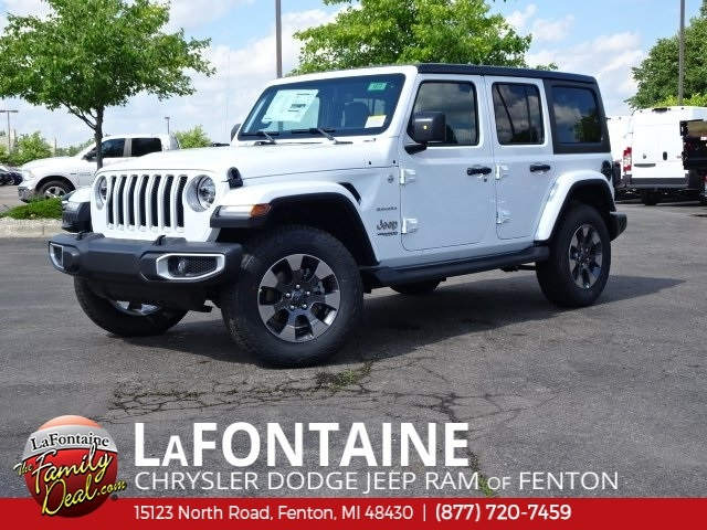 Jeep Wrangler Dealership >> New 2018 JEEP Wrangler Unlimited Sahara Sport Utility in Fenton #18U1873 | LaFontaine Chrysler ...