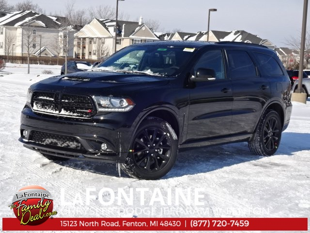 new 2018 dodge durango gt sport utility in fenton 18u599 lafontaine chrysler dodge jeep ram. Black Bedroom Furniture Sets. Home Design Ideas
