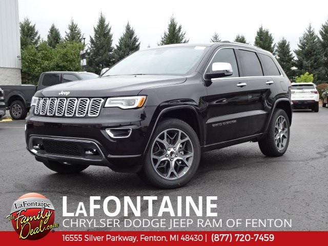 Jeep Cherokee Overland >> New 2019 Jeep Grand Cherokee Overland Sport Utility In Fenton
