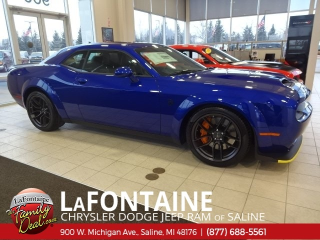Hellcat Challenger For Sale >> New 2019 Dodge Challenger Srt Hellcat Coupe In Fenton 19s1013